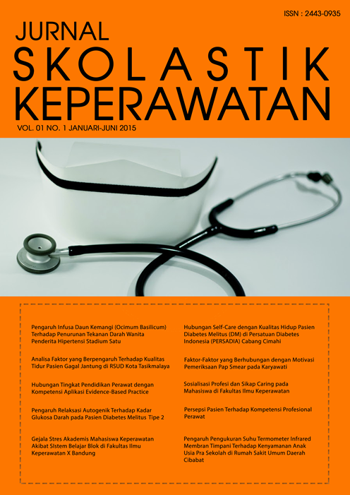 Lihat Vol 1 No 01 (2015): Januari - Juni