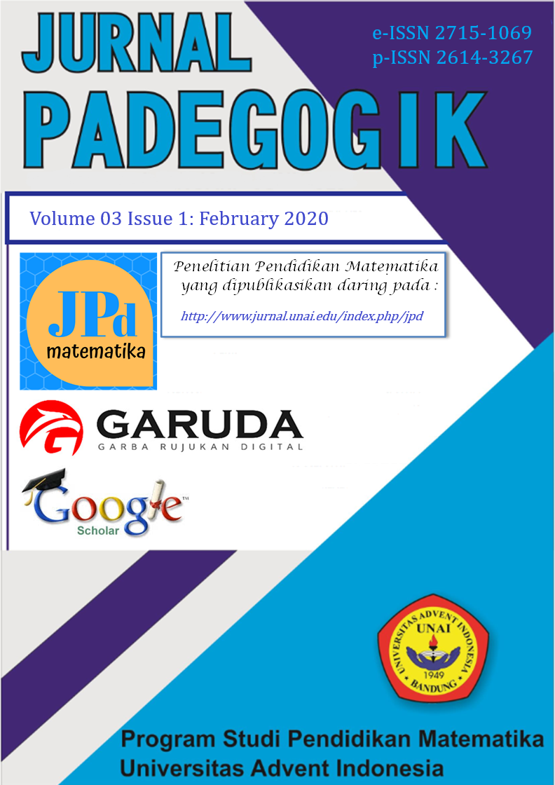 Jurnal Padegogik 03(1):  February 2020