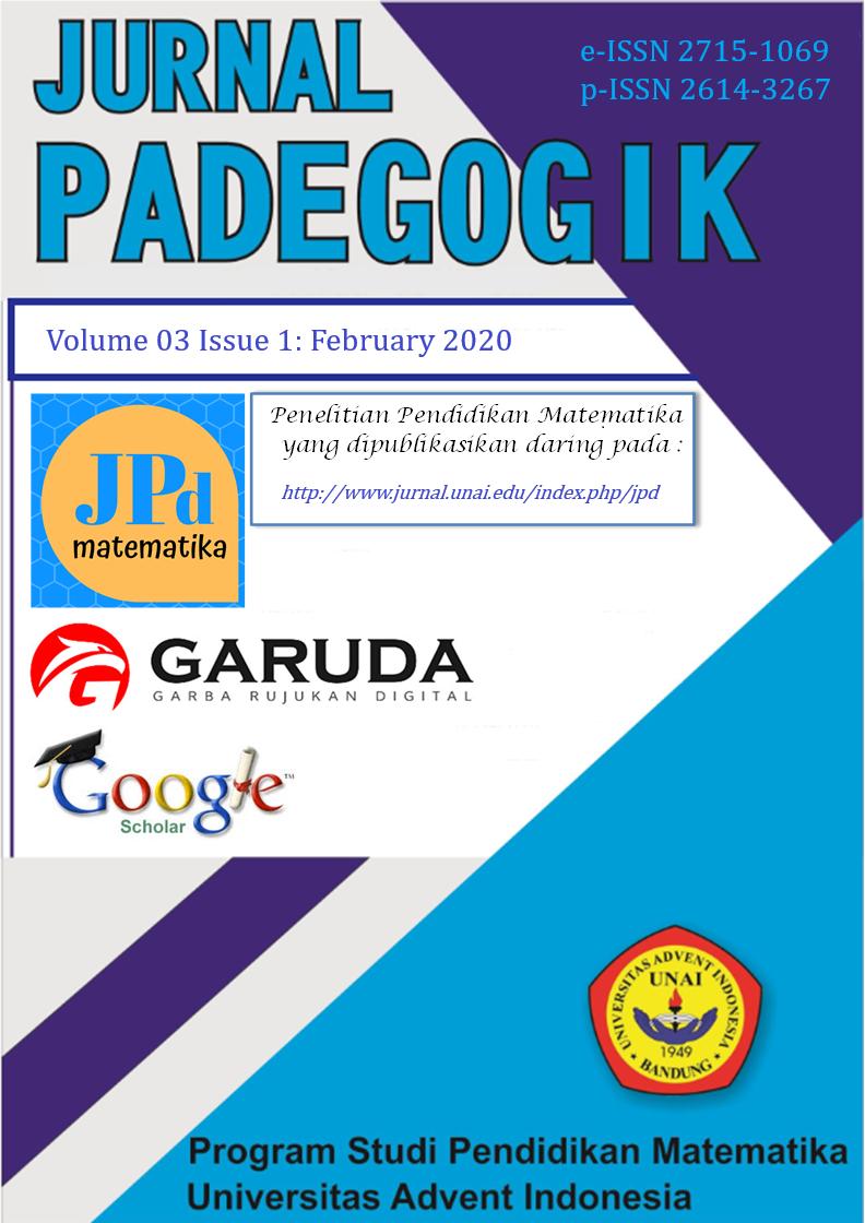 Jurnal Padegogik 03(1):  February 2020