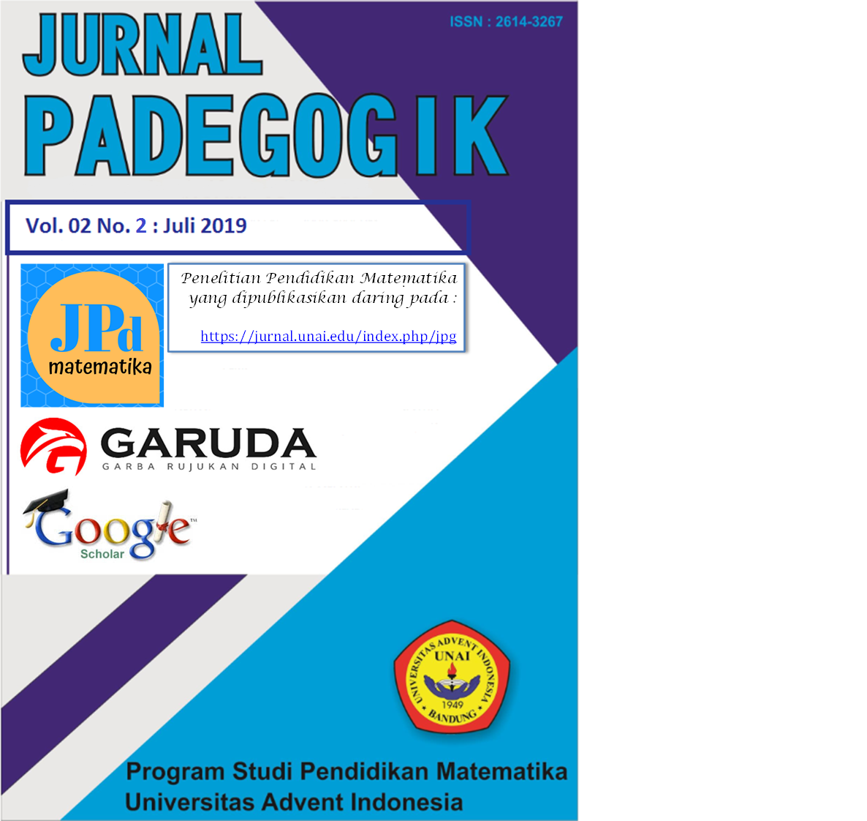 View Vol. 2 No. 2 (2019): Jurnal Padegogik : Juli 2019
