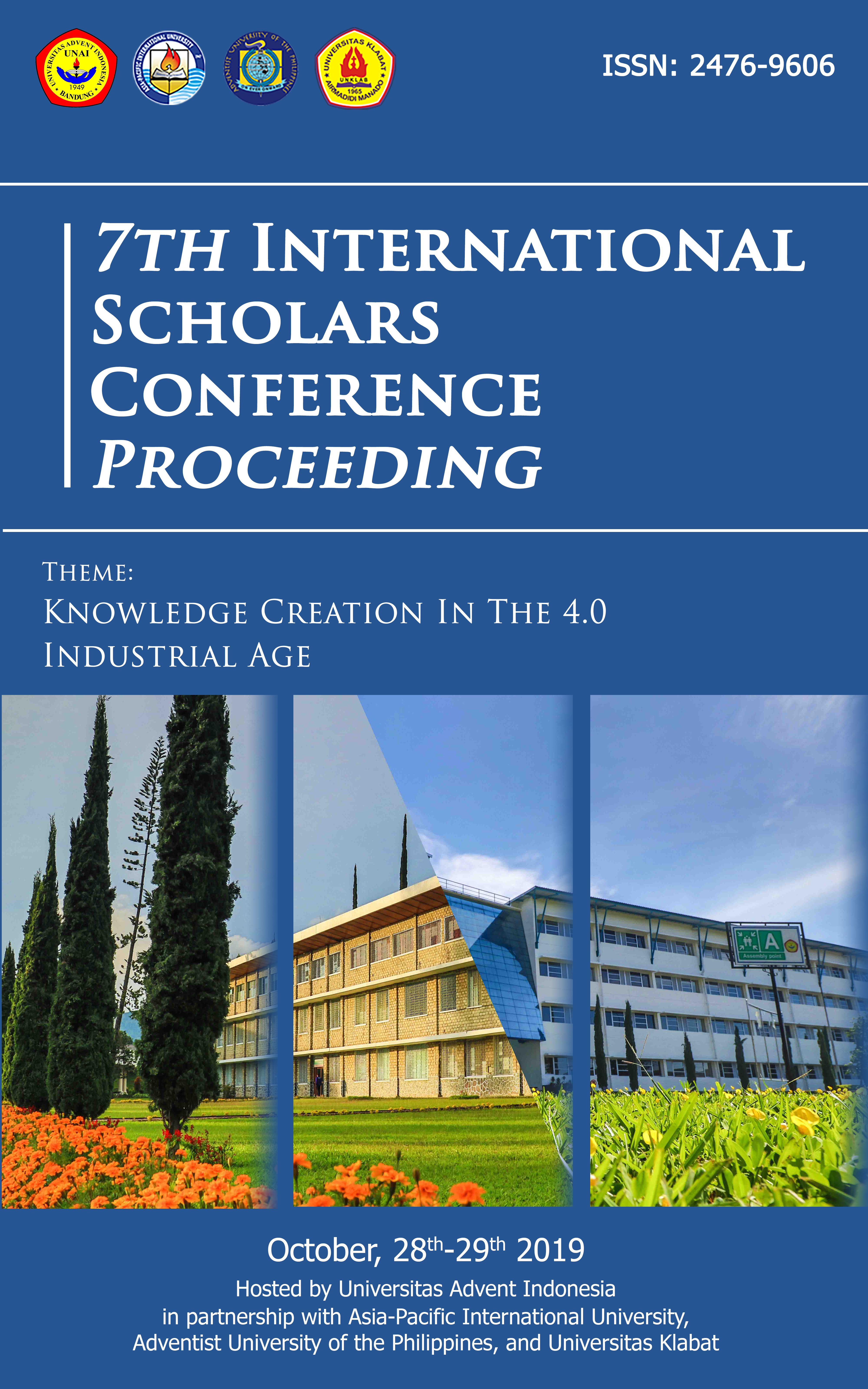 View Vol. 7 No. 1 (2019): Abstract Proceedings International Scholars Conference
